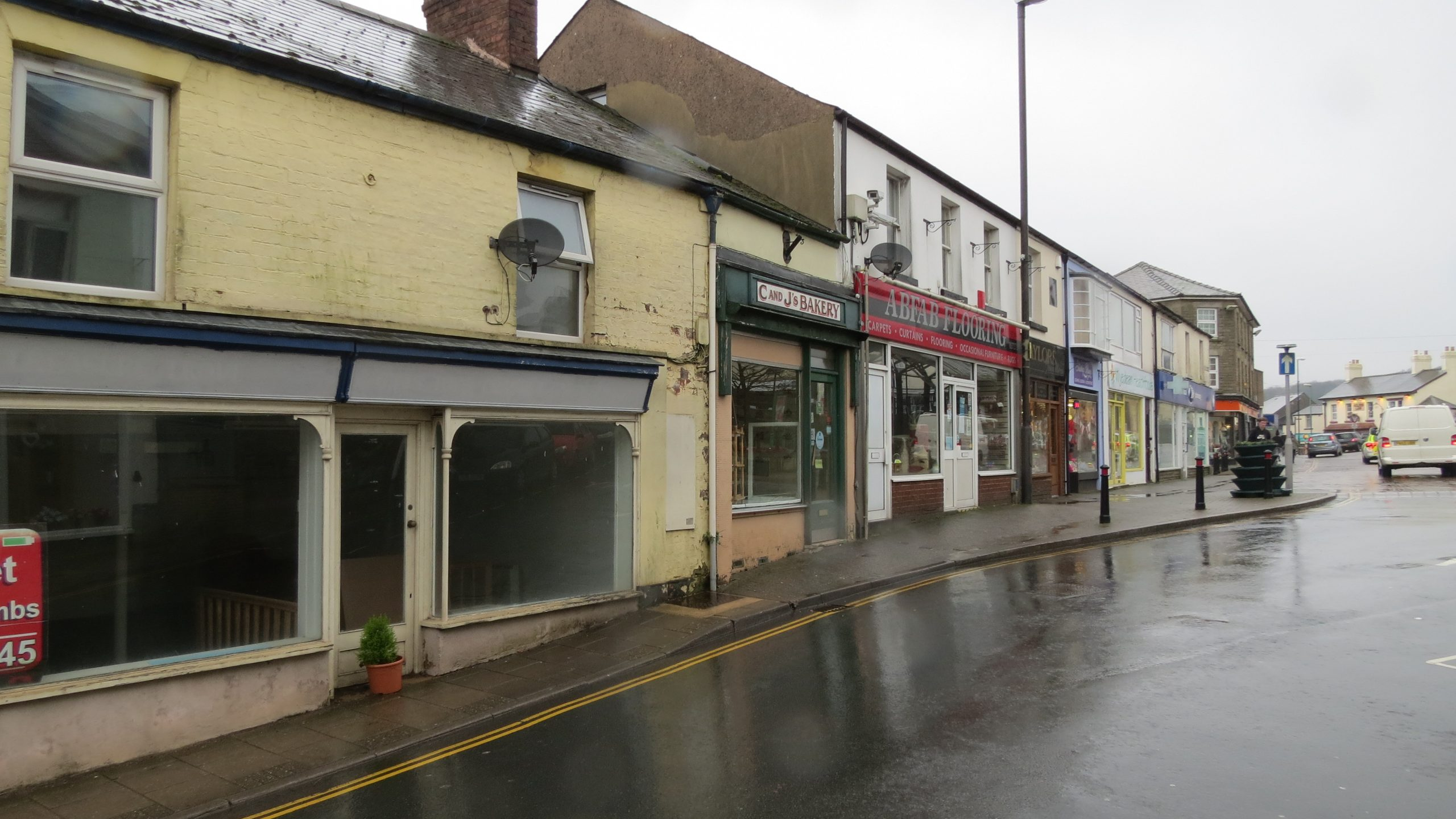 Street view from Cinderford, a residential and commercial development by MELT Property