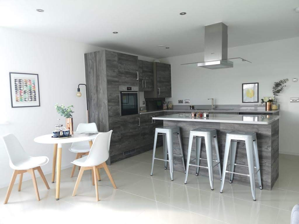 Kitchen and Dining Room - MELT Property Development - ONE62, Hythe