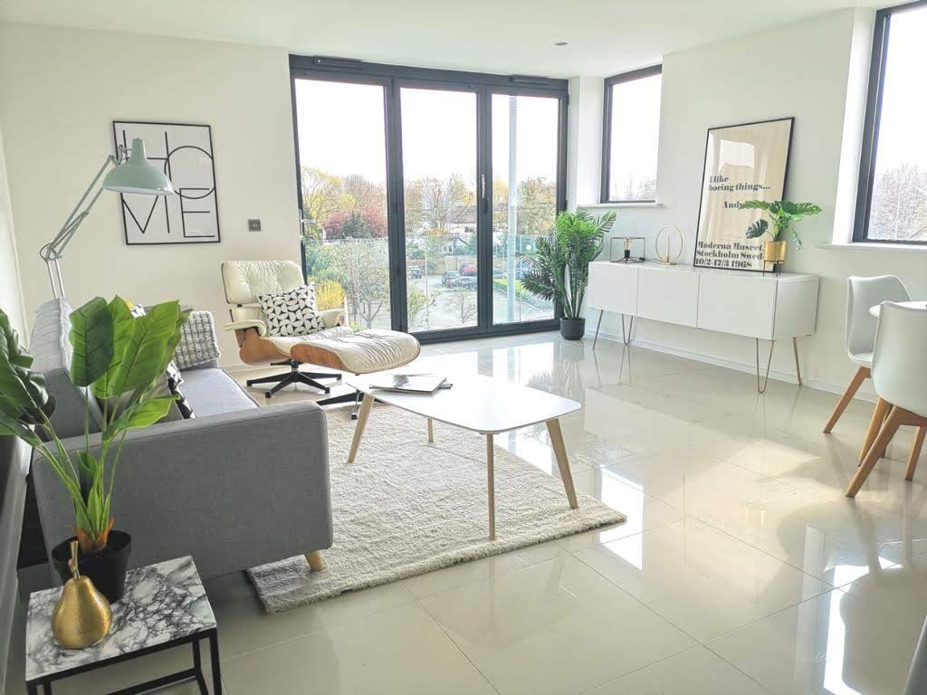 Living Room - MELT Property Develompent - ONE62, Hythe