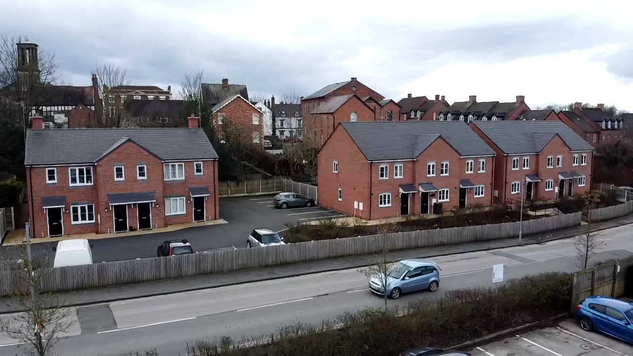 A 10-new homes development by MELT Property at Whitchurch, Shropshire.