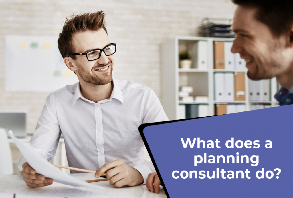What Does A Planning Consultant Do?